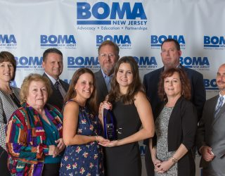 Hilton wins the 2019 BOMA award for the Suburban Low-rise Office Parks category